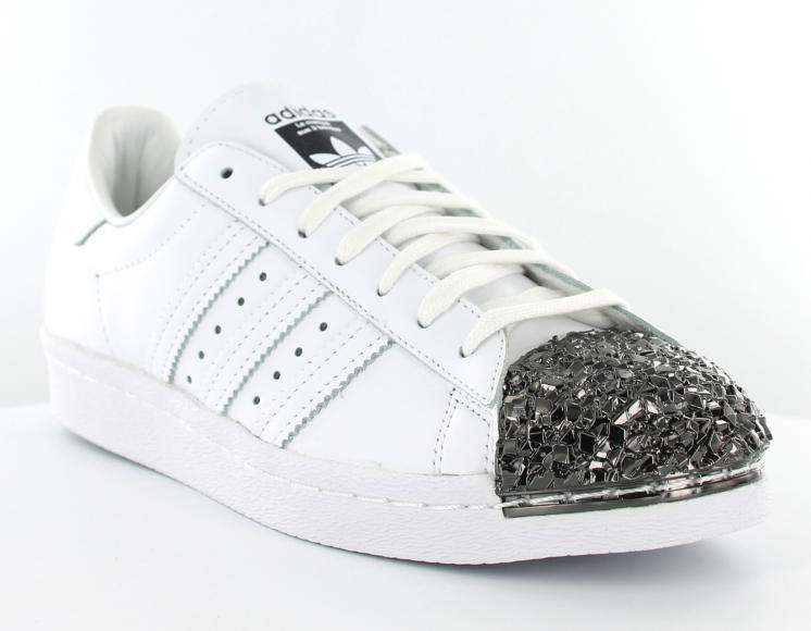 separation shoes offer discounts cozy fresh low cost basket adidas superstar 80s metal toe blanc et rose ...