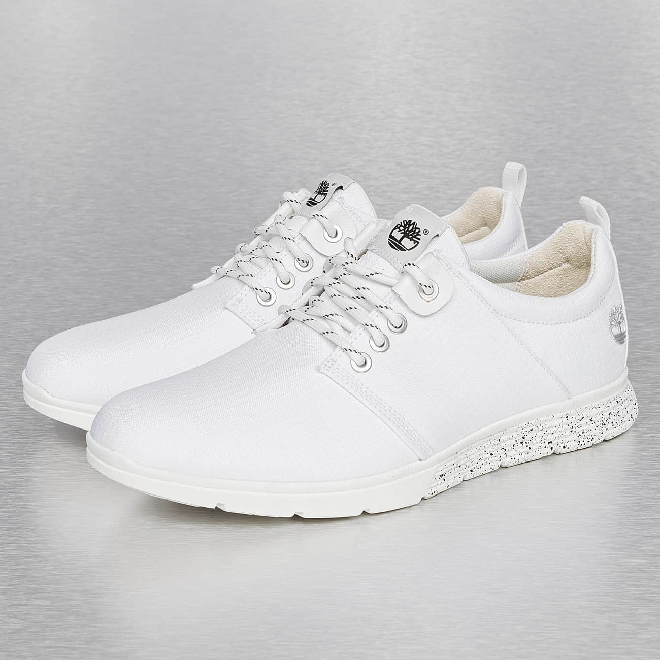 basket blanche homme timberland