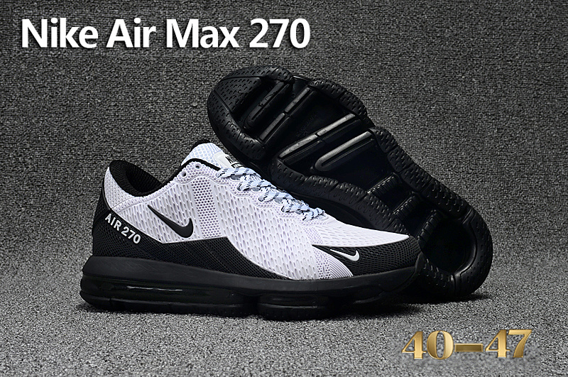 nike air max 270 homme flyknit noir